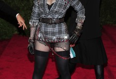 "Madonna The Metropolitan Museum of Art's Costume Institute benefit celebrating ""PUNK: Chaos to Couture"""