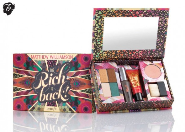 "Matthew Williamson x Benefit Cosmetics ""Rich Is Back"""