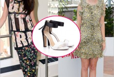 Who rocked it hotter: Selena Gomez vs. Ahna O'Reilly in Bionda Castana Elisabetta Sandals