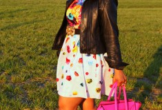 My style: Floral crush (Prabal Gurung for Target dress + Celine tote + Zara pumps)