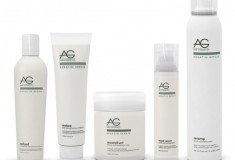 Repair your hair with AG Hair Keratin Repair Volumizing Spray and Anti-Breakage Mask