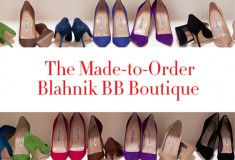 Create your own custom Manolos in the Made-to-Order  Blahnik BB Boutique!