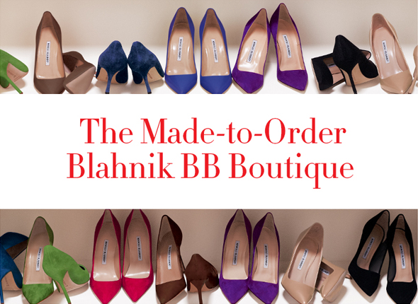 The Made-to-Order Manolo Blahnik BB boutique