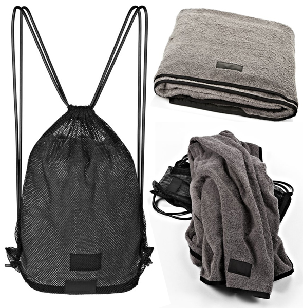 Alexander Wang TOWEL WITH MESH BAG