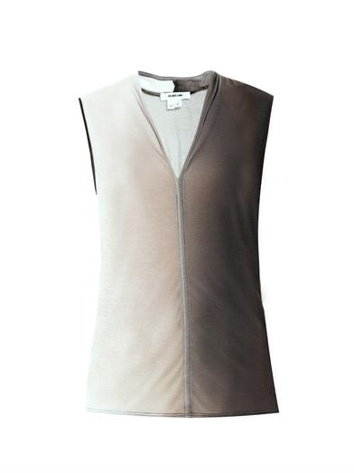 Helmut Lang Shadow ombre top