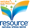 resource Natural Spring Water Logo