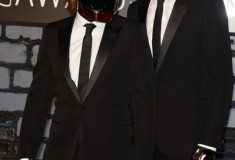 Daft Punk attends the 2013 MTV Video Music Awards