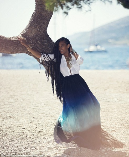 Solange Knowles for Net-a-Porter