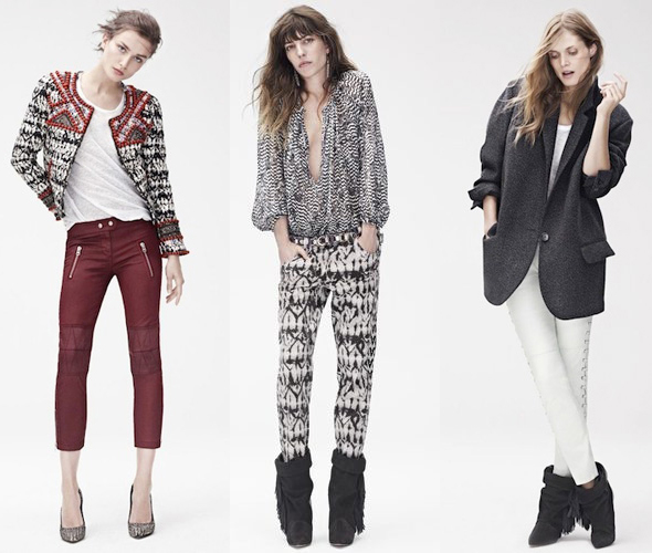 Fashion news - Isabel Marant for H&M look book images
