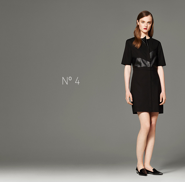 Phillip Lim for Target - Dress with Faux Leather in Black
