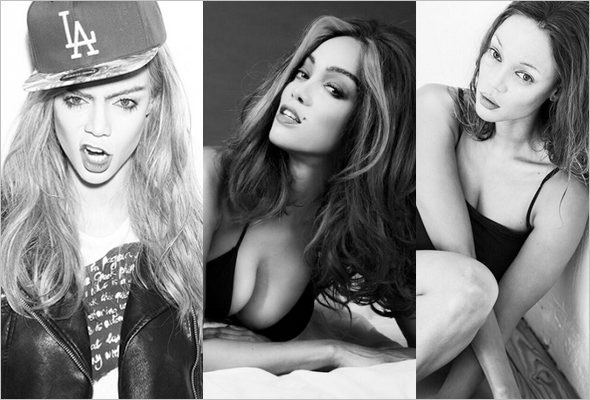 Tyra Banks Presents: 15 - as Cara Delevingne, Cindy Crawford and Kate Moss