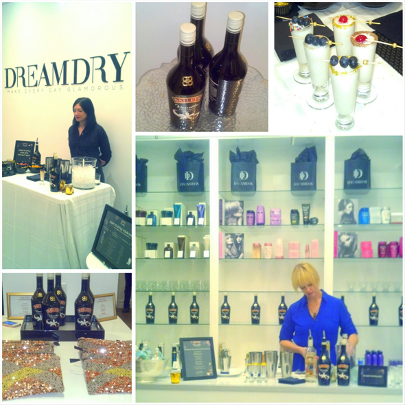 Baileys Vanilla Cinnamon Blogger event at Dream Dry