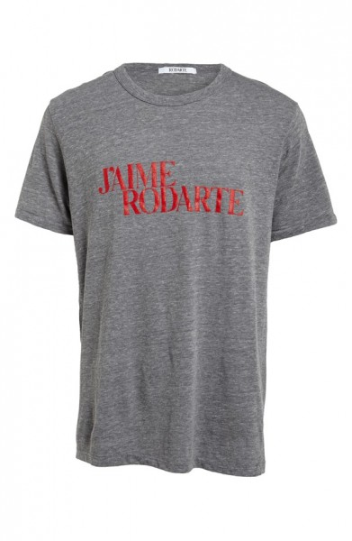 'J'Aime Rodarte' Heathered T-Shirt (Nordstrom Exclusive)