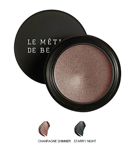 Le Metier De Beaute True Color Creme Eye Shadows in Champagne Shimmer and Starry Night