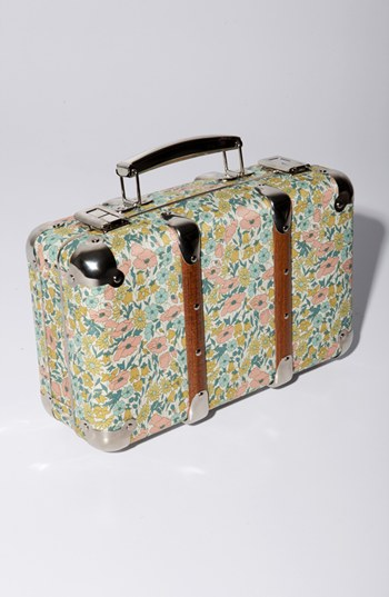 Merci 'Poppy Daisy' Decorative Large Floral Valise