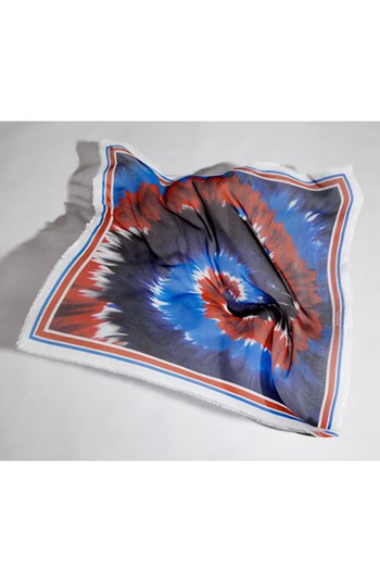 Rodarte Square Tie Dye Scarf