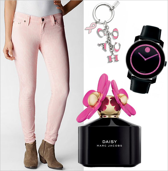 Shop these 8 fashion and beauty finds in support of Breast Cancer Awareness month!