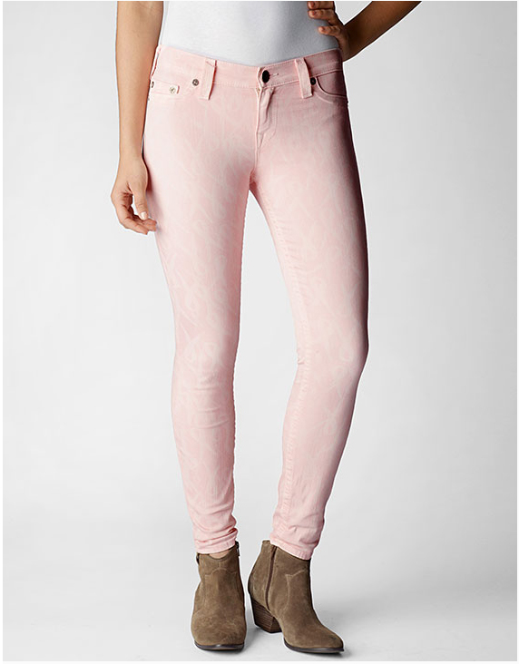 True Religion Halle Super Skinny Breast Cancer