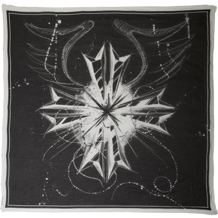 BNY SCC A New York Holiday - Balmain Emblem Scarf