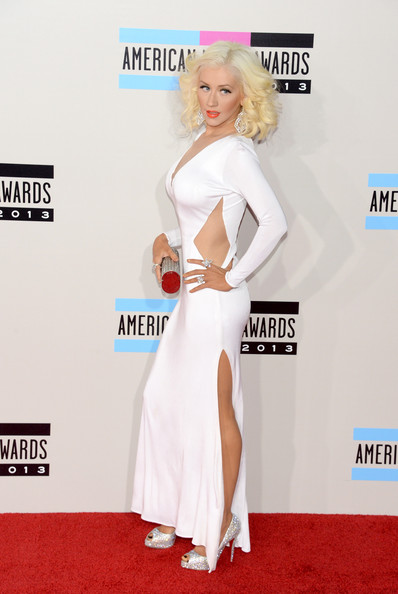 Christina Aguilera attends the 2013 American Music Awards