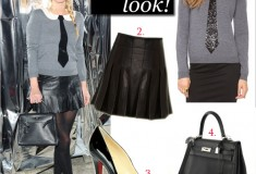 Get her haute look: Nicky Hilton in alice + olivia at the David Choe collaboration launch party