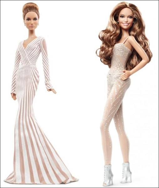Jennifer Lopez Barbie dolls