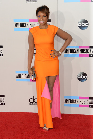 Jennifer Hudson attends the 2013 American Music Awards