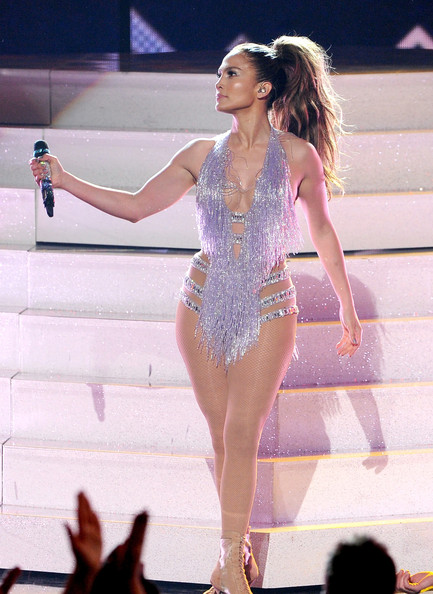 Jennifer Lopez performs onstage during the 2013 American Music Awards