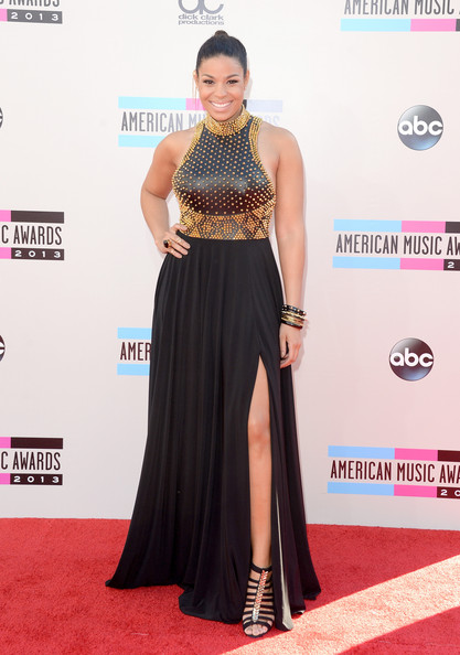 Jordin Sparks attends the 2013 American Music Awards