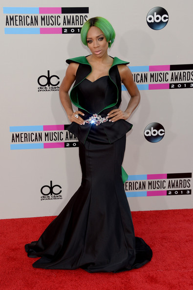 Lil' Mama attends the 2013 American Music Awards