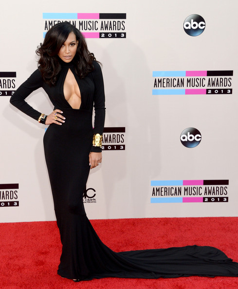 Naya Rivera attends the 2013 American Music Awards