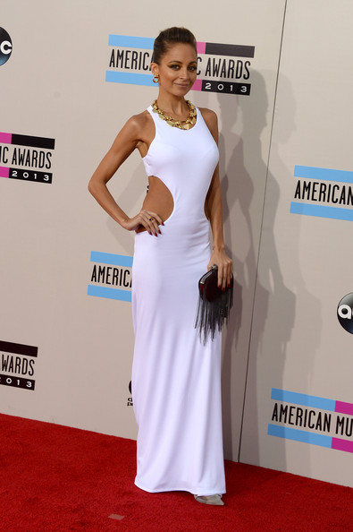 Nicole Richie attends the 2013 American Music Awards
