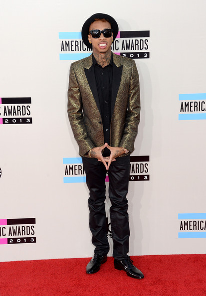 Tyga attends the 2013 American Music Awards