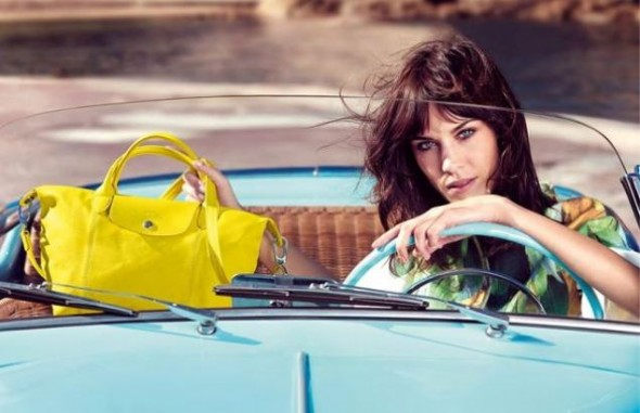 Haute news roundup: Alexa Chung is the new face of Longchamp