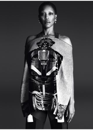 Erykah Badu in Givenchy ad campaign