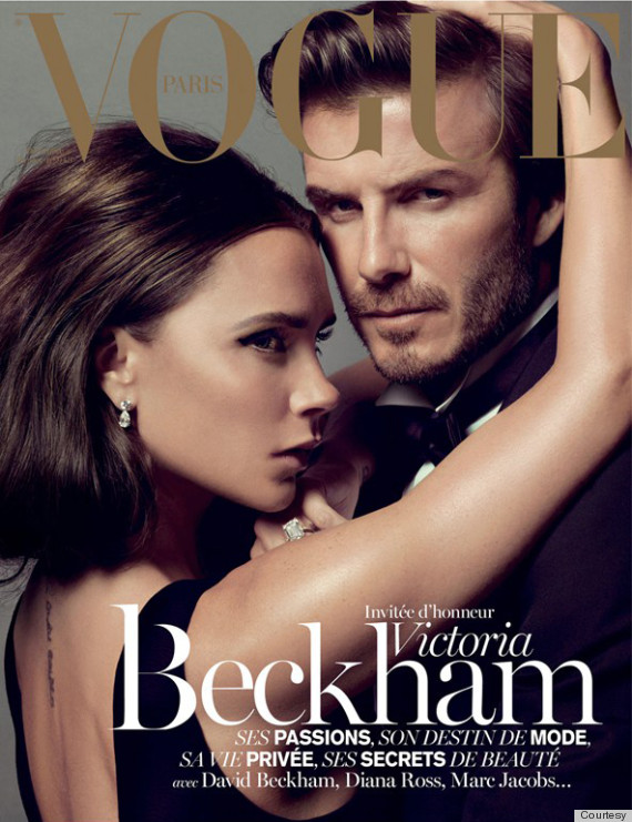 Haute news roundup: Victoria Beckham & David Beckham cover December January issue of Vogue Paris