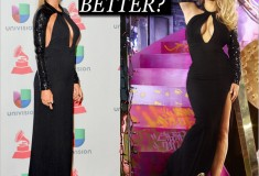 Who wore it better: Kim Kardashian vs. Carmen Electra in Saint Laurent