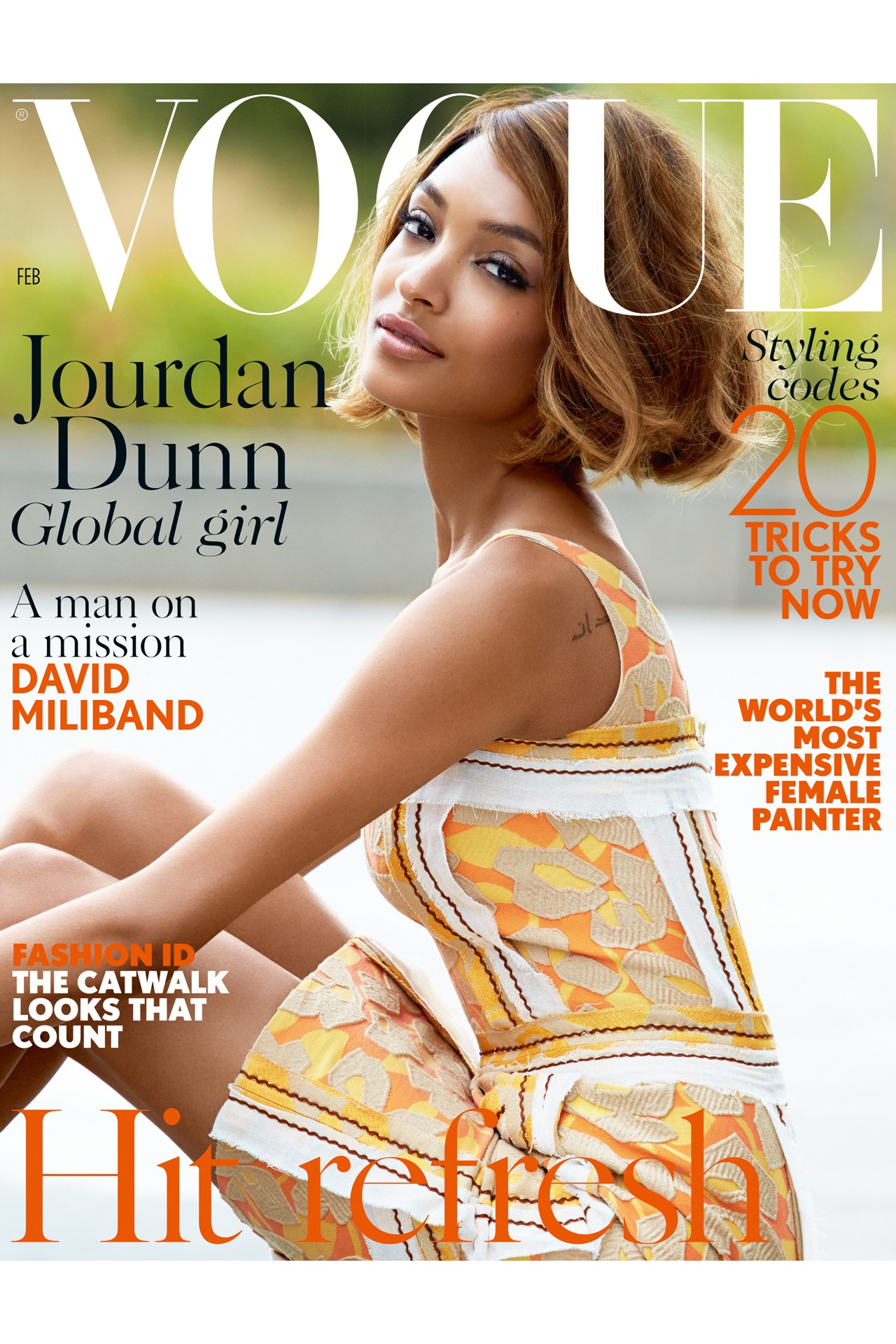 Haute News  Jourdan Dunn covers British Vogue  C. Wonder to close all  stores + more 36d1c7e290f6
