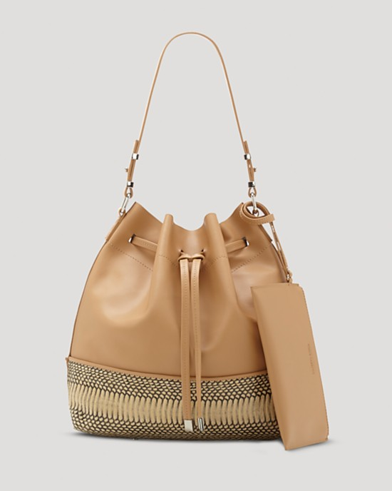 bd47ce375175 21 Ways to Get the Bag of the Moment  The Drawstring Bucket Bag ...