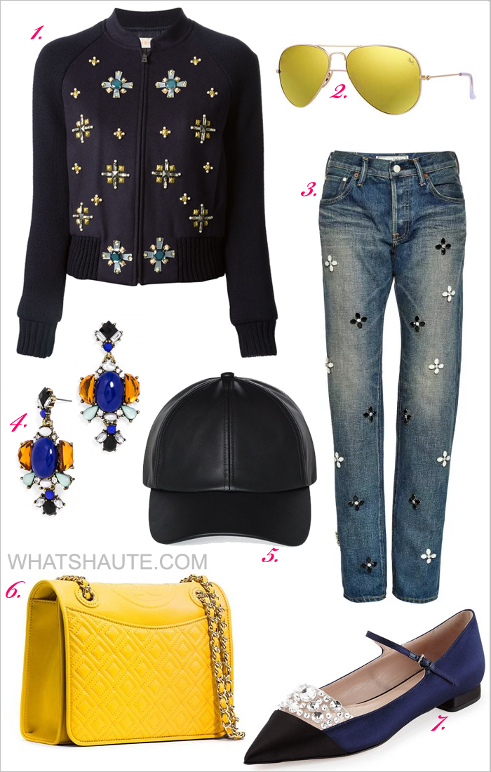 Outfit Inspiration - What to Wear This Weekend  Borrowed from the Boys -  Tory Burch d527e5de4afd