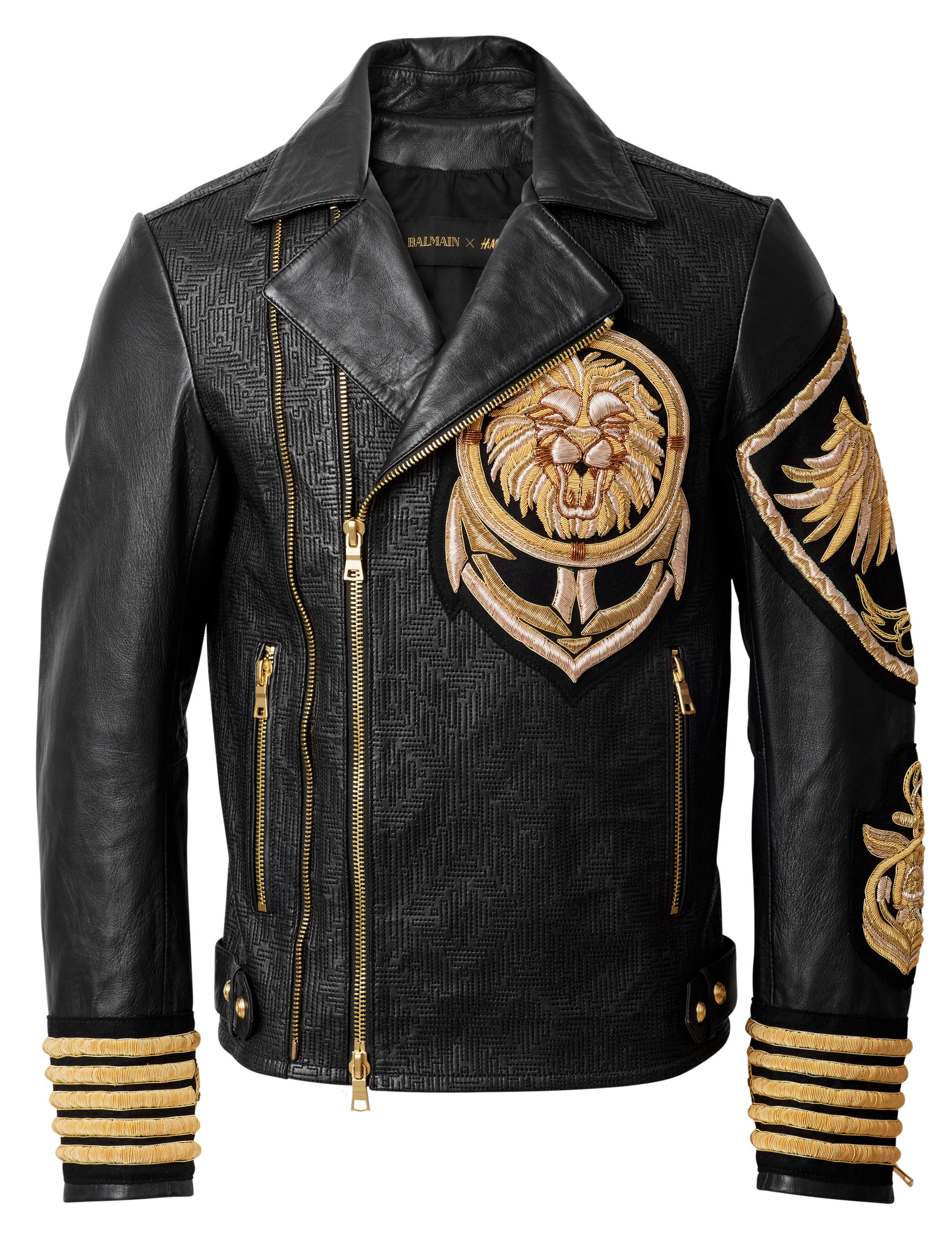 Men's Balmain Jackets First step to joining the #BalmainArmy - get a Balmain jacket. From baroque-inspired double-breasted blazers to suede biker jackets, the Parisian label's outerwear styles are designed with couture-like tailoring and exceptional attention to detail.