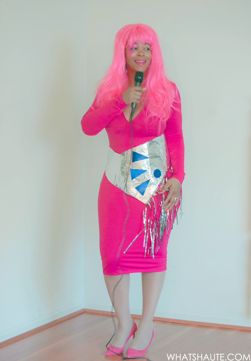 Video Quick And Easy Halloween Costume Jem What S Haute