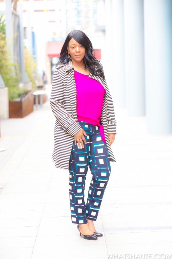Fashion star express geo tunic dresses