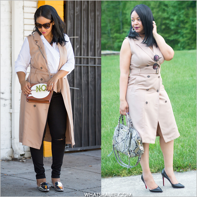 2b45086f8939 Two Ways to Wear: The Trench Dress - What's Haute™