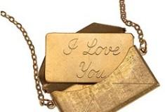 Message Envelope Necklace