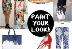 Haute Trend: Paint Makes a Splash in Fashion!