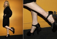 "Madonna Rocks Chanel's ""Miami Vice"" Gun shoes"
