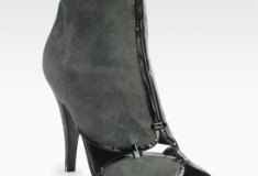 Don't Call Me Chicken Little: Sigerson Morrison Suede Ankle Boot