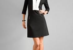 New York & Company City Style Ponte Dress