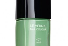 Going gaga for green…nails? Chanel's Jade polish is coming soon